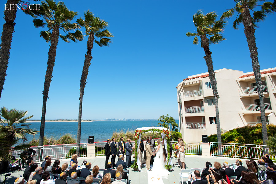 loews coronado bay resort wedding michele pej april