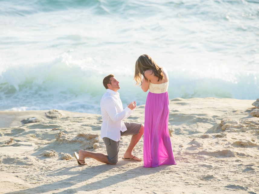 Proposal Photographer San Diego La Jolla